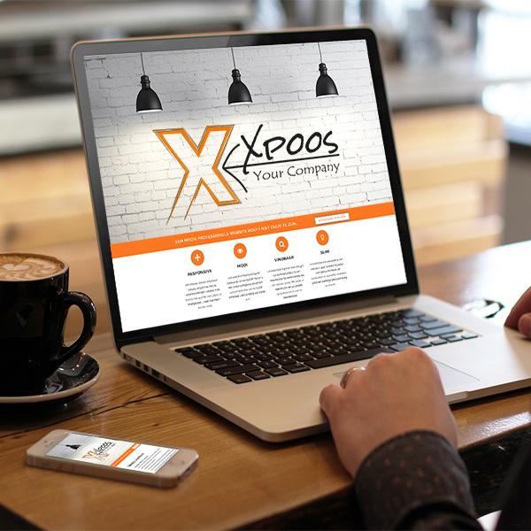 Xpoos website laten maken