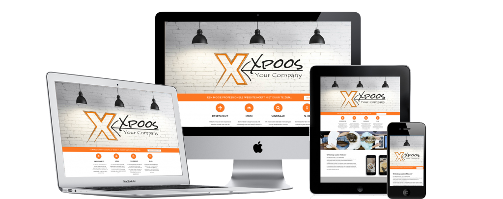 Xpoos webdesign website