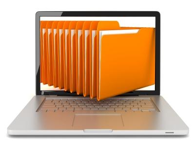 Laptop files