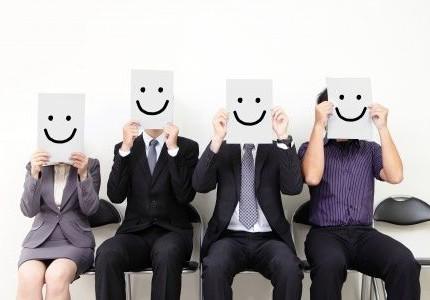 herkenning vrolijke mensen