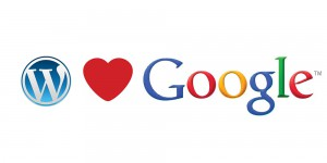 wordpress love google