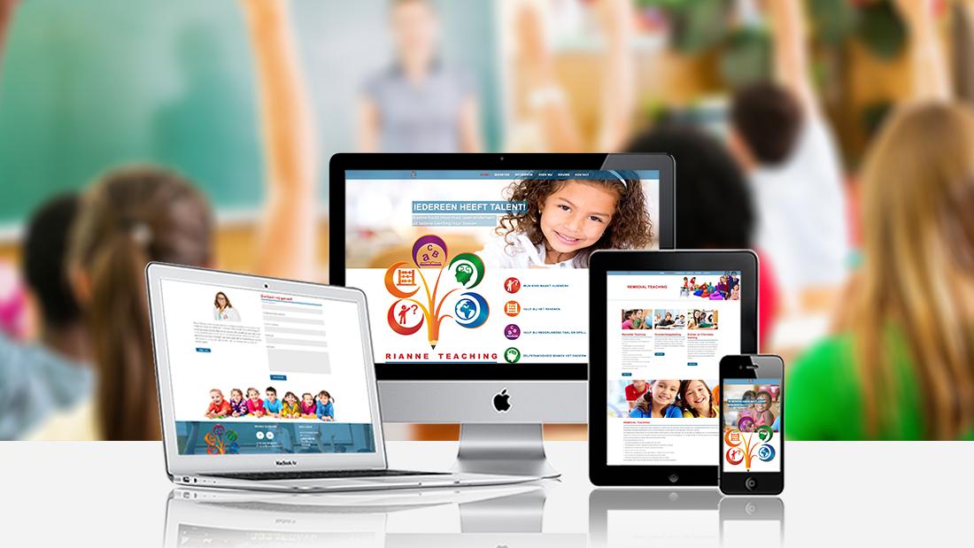 Webdesign-Rianne-Teaching