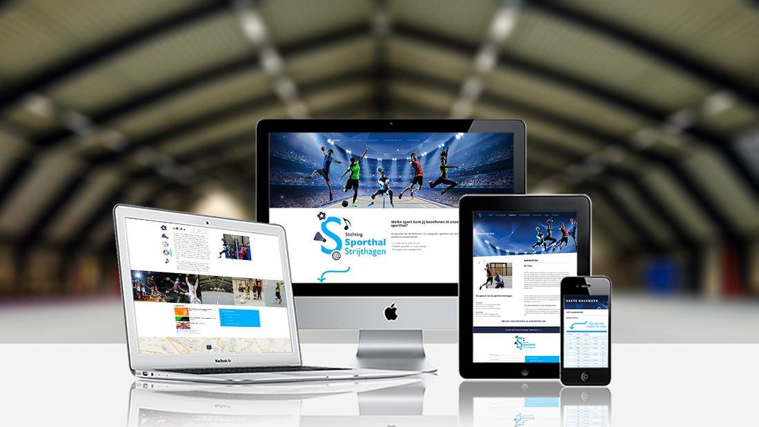 Webdesign-Sporthal-Strijthagen