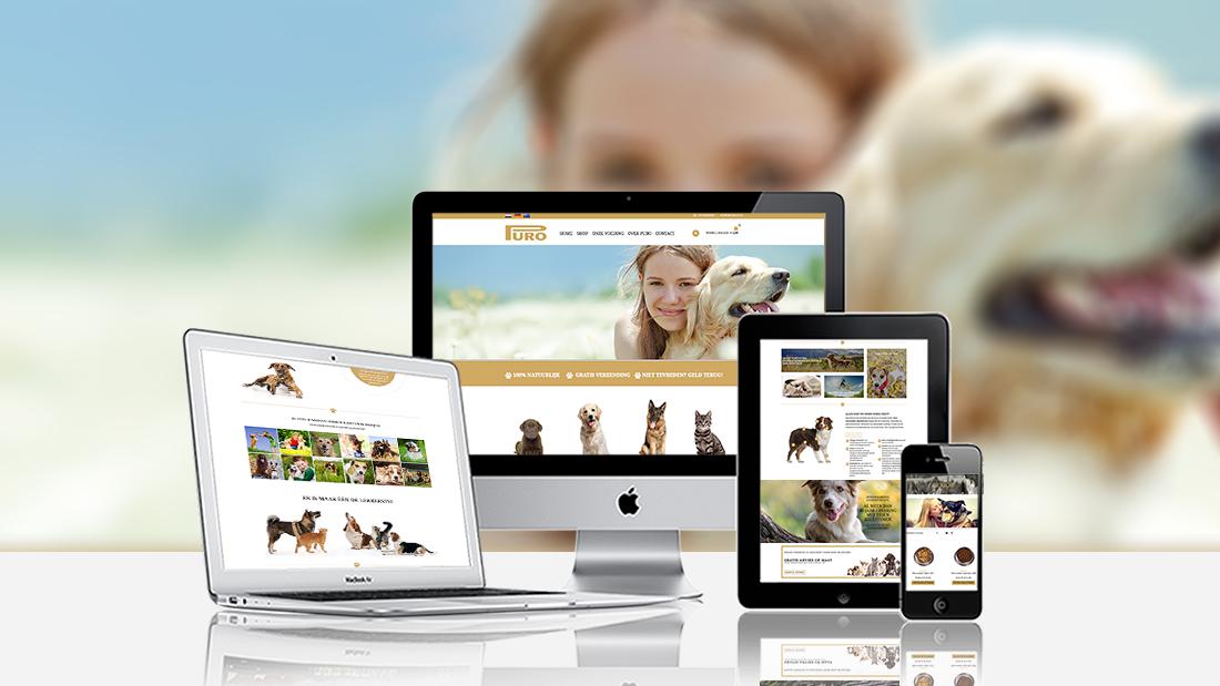 Webshop-Puro-Dogfood